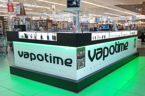 Vapotime Perpignan Leclerc Sud vend des cigarettes électroniques et des e-liquides pour vous soutenir dans l'arrêt du tabac.