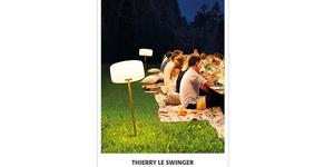 Casa Mathé vend des lampes Fatboy rechargeables Collection Thierry Le Swinger en magasin à Latour Bas Elne.
