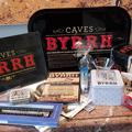 Caves Byrrh Thuir présente ici ses lots pour la Vitrine de Noël de France Bleu Roussillon