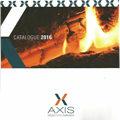 Cheminées Valdivia Le Soler présente les catalogues 2016 des poêles à bois et granulés, des foyers et des cheminées Axis.