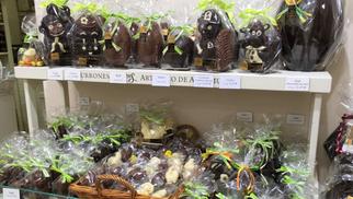 Chocolats de Pâques chez Torrons Vicens Perpignan à découvrir en boutique(® torrons vicens)