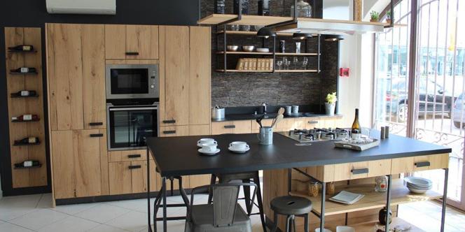 trouvez votre cuisine quip e perpignan chez cuisaline. Black Bedroom Furniture Sets. Home Design Ideas