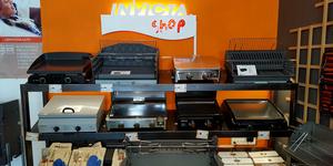 Trouvez le barbecue ou la plancha pour votre cuisine d'été chez Invicta Shop 66 Perpignan au Mas Guérido Cabestany.