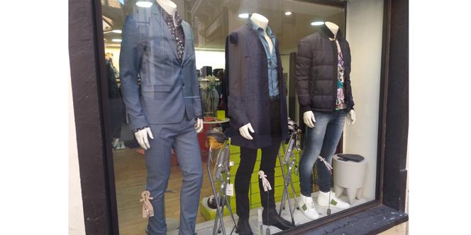 Dumonde Perpignan présente sa nouvelle collection vêtements Homme en boutique avec des articles de marque !