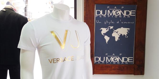 Dumonde Perpignan Mode Homme propose la nouvelle collection Versace Eté 2017 en boutique en centre-ville.
