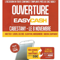 Easy Cash Perpignan annonce l'ouverture de son magasin occasion et rachat cash au Mas Guérido Cabestany.