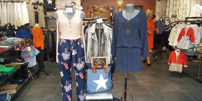 Hello Ptits Loups Perpignan vend aussi des vêtements Femme dans sa boutique de vêtements pour enfants, bébés et ados au Carré d'Or Château Roussillon.