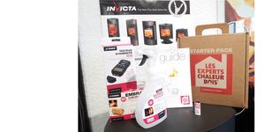 Invicta Shop Perpignan propose son Kit Starter Pack pour faciliter l'allumage de vos poêles à bois et à granulés.