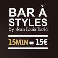 Votre coiffeur Jean Louis David Canet en Roussillon présente le Bar à Styles.(® jean louis david)