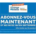 L'Orange Bleue Perpignan Abonnez-vous maintenant et ne payez qu'en septembre ! Offre limitée aux 50 premiers inscrits