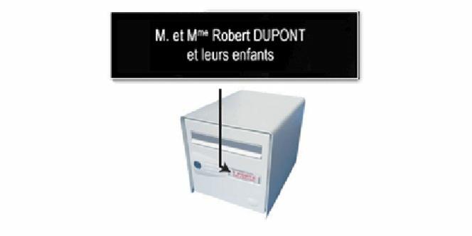 La Cordonnerie Anatole France Perpignan réalise des plaques personnalisées (® cordonnerie anatole france)