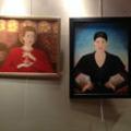 Exposition Lilith du salon de thé Les Enfants Gâtés au centre de Perpignan