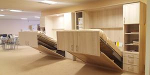 Trouvez votre lit relevable à Perpignan chez Meubles Logial au Boulou qui propose un grand choix de finitions, d'options et de tailles.(® networld-gontier)