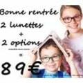 Lunettes enfant pas cher à Perpignan chez Optique Saint Martin avec des forfaits à partir de 89 euros.