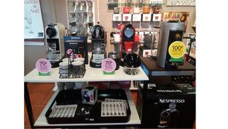 machines à café Nespresso Magimix moins chères à Perpignan chez Casa Mathé Latour Bas Elne jusqu'à fin 2017.