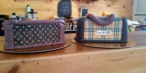 Dress and Coffee Perpignan présente ses nouveautés du côté du salon de thé avec pâtisseries et encas faits maison ! Ici gâteaux de Nini's Cake designer