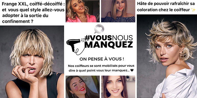 Jean Louis David Perpignan et Canet en Roussillon proposent leur nouvelle collection et annoncent la réouverture des salons de coiffure.