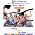 Opticadom 66 Opticien à domicile utilise un casque de réalité virtuelle pour détecter des problèmes de vision, chez vous ou en boutique à Perpignan.