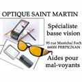 Opticien basse vision Perpignan chez Optique Saint Martin qui a des solutions pour aider les mal-voyants.