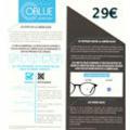 Optique Saint Martin Perpignan propose les lunettes contre lumière bleue OBlue à 29 €.