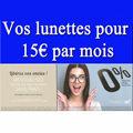 Optique Saint Martin Perpignan propose l'achat de lunettes pour 15 € par mois, à découvrir en boutique.