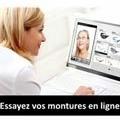 Optique Saint Martin Perpignan propose l'essayage virtuel des montures sur son site.
