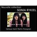 Optique Saint Martin Perpignan l'artisan opticien à prix discount en magasin ou à domicile propose la nouvelle collection de montures Sonia Rykiel.(® optique saint martin)