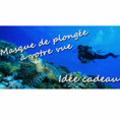 Optique Saint Martin Perpignan vend des masques de plongée à la vue : belle idée-cadeau ! (® optique saint martin)