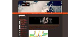 Oxygène Le Soler présente son site de vente en ligne www.vap-style.com où acheter matériels pour vapoter et e-liquides.(® oxygene le soler)
