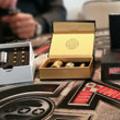 Oxygène Le Soler vend des box de cigarettes électroniques Fuchai 213 en magasin.(® networld-gontier)