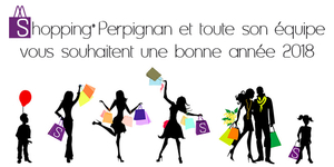Perpignan-Shopping.fr Le guide des commerces de Perpignan et des restaurants vous présente ses meilleurs voeux pour l'année 2018 !
