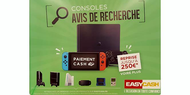 Easy Cash rachète vos consoles de jeu vidéo récentes et les plus anciennes au magasin de Cabestany.