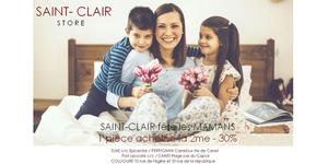 Saint Clair Store propose son offre Fête des Mères jusqu'au 27 mai.