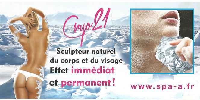 Spa A Perpignan propose des soins Cryothérapie pour le corps et le visage.