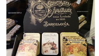 Torrons Vicens Perpignan présente les chocolats Amatller en boutique au 4 rue Voltaire.(® networld-david gontier)