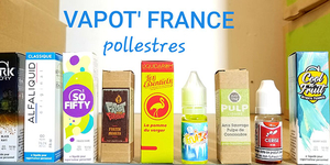 Vapot France Pollestres a un grand choix de e-liquides
