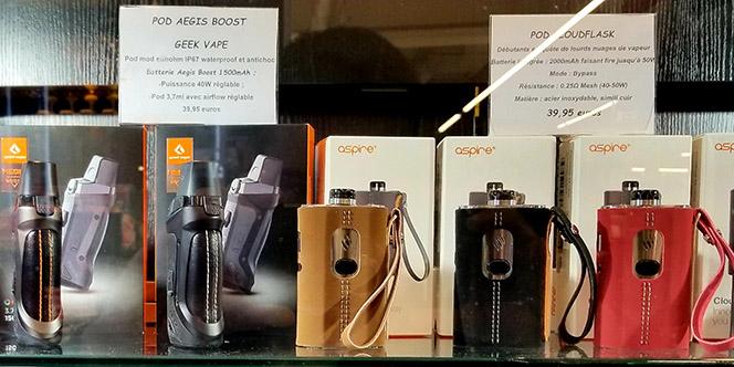 Vapot France Pollestres annonce des nouveautés en matériel de cigarette électronique.