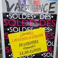 Vapot France Pollestres solde des e-liquides !