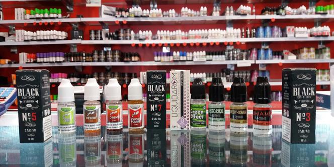 Vapot France Pollestres vend de nouveaux e-liquides en boutique.