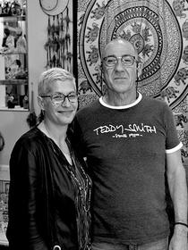 Cindy Didonato : guidance spirituelle à la boutique l'Anaconda de Perpignan (® SAAM S.Delchambre)