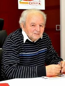 Gérard Billès, le président de la Mutuelle Catalane dans le quartier Gare de Perpignan (credits photos : EDV-Stéphane Delchambre)