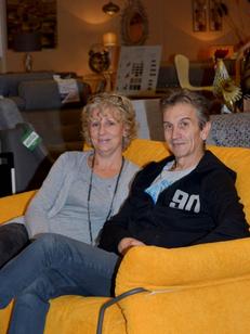 Meubles Logial le Boulou magasin de meubles, lits et déco dirigé par Jean-Luc Degris avec son épouse Sophie (® SAAM S.Delchambre)