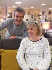 Meubles Logial le Boulou magasin de meubles, lits et déco dirigé par Jean-Luc Degris avec son épouse Sophie (® NetWorld-gontier)