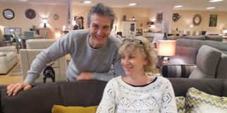 Meubles Logial du Boulou magasin de meubles, lits et déco dirigé par Jean-Luc Degris avec son épouse Sophie (® NetWorld-gontier)