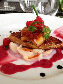 Escalope de Foie gras poelee du restaurant Le Passionné proche de la Gare de Montpellier
