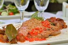 Assiette gourmande du restaurant Al Catala dans la ville de Céret (credits photos : networld – Stephane Delchambre)