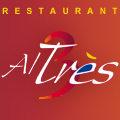 Logo du restaurant de cuisine mediterraneenee Al Tres au centre-ville de Perpignan