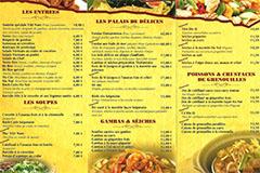 Viet Nam Perpignan | Carte de plats à emporter
