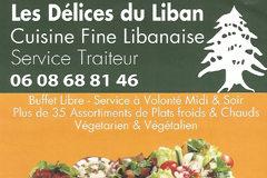 Présentation du restaurant Les Délices du Liban de Perpignan