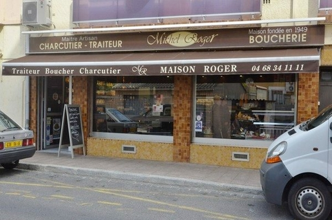 Michel Roger traiteur Perpignan est traiteur boucher et charcutier dans la rue Claude Bernard (® networld- Benoist Girard)